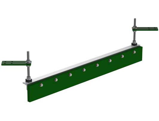 Aluminum X-Plow system