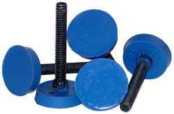 Coated fastener bolts
