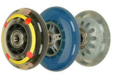 Industrial use skate wheels