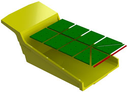 Haul truck bed liners