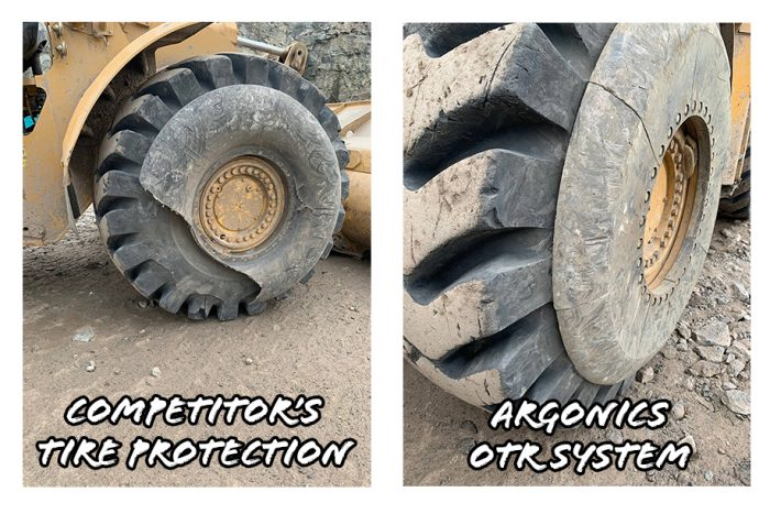 Comparison of the Argonics OTR system and a competitor system